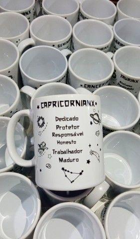Caneca de Cerâmica Personalizada - Tema - Signos