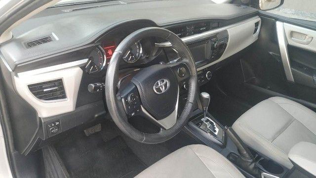 Vendo Corolla XEI 2016 com 76.000 Km. - Foto 7