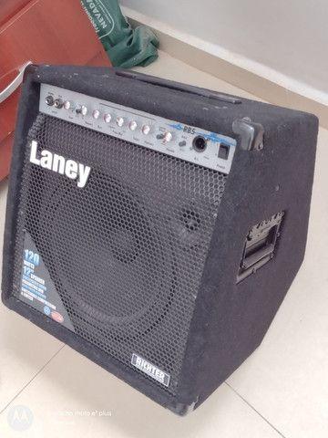 Amplificador para contra baixo Laney RB5 Richter 120 watts