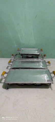 Picanheira de alumínio batido  - Foto 5