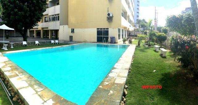 Edifício Itália, apartamento com 4 quartos, 2 vagas de garagem, piscina, Cocó - Foto 16