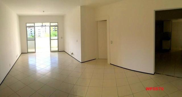Edifício Itália, apartamento com 4 quartos, 2 vagas de garagem, piscina, Cocó - Foto 3
