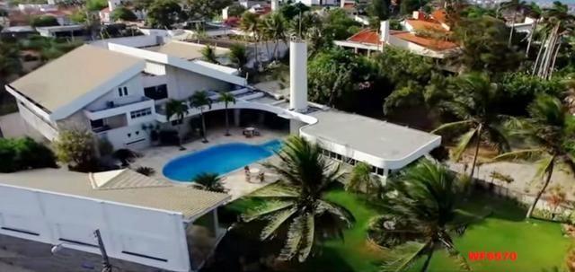 Mansão em Fortaleza, casa duplex nas Dunas, 4 suítes, gabinete, bairro de Lourdes - Foto 2