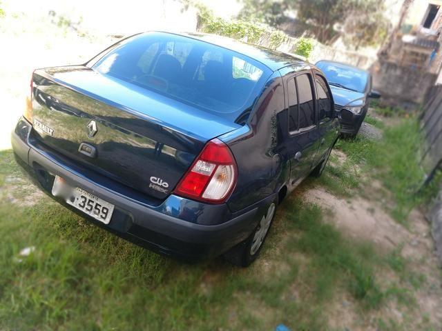 Clio sedan 1.6 2006 Completo - Foto 6