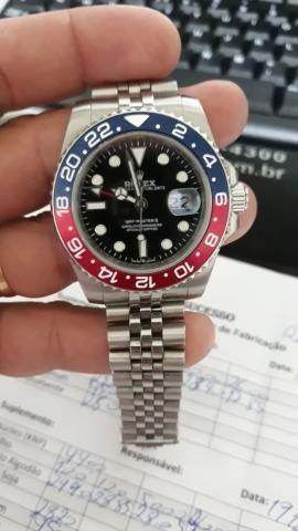 11afee9dc24 Relógio Rolex GMT MASTER II - Bijouterias