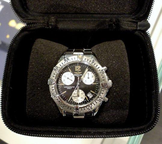 c905e08fb7f Relógio Breitling Colt Chrono Impecável Ocasião - Bijouterias ...