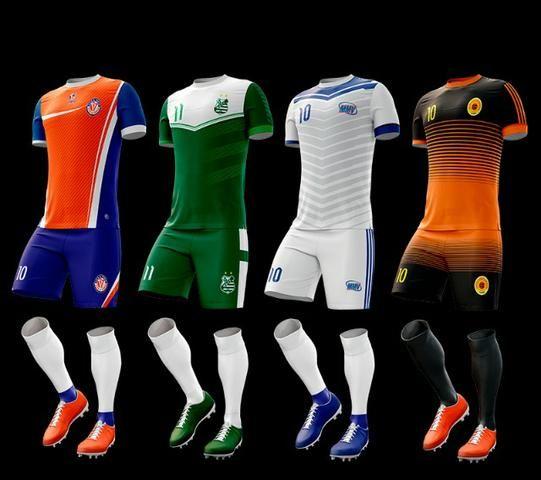 f21e950390a21 Uniforme Times Futebol - Fardamento Uniforme Jogador - Jogo Camisa Time  Futebol