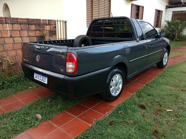Saveiro 1.6 ap original a alcool pneus novos revisada inteira valor R$15.900 - Foto 12