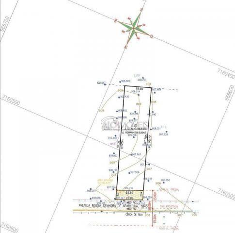 Terreno à venda, 1281 m² por R$ 281.890,00 - Estados - Fazenda Rio Grande/PR - Foto 12