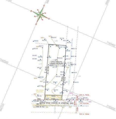 Terreno à venda, 1252 m² por R$ 275.569,00 - Estados - Fazenda Rio Grande/PR - Foto 12