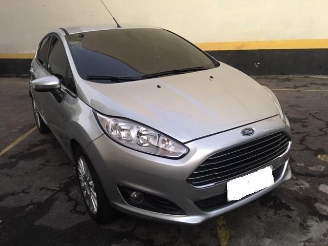 New Fiesta hatch Titanium automático com gnv 5 geração preço real - Foto 4