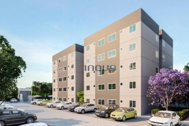 Apartamento com 2 dormitórios à venda, 44 m² por R$ 124.990,00 - Centro - Caucaia/CE