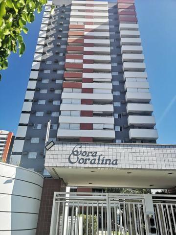 Edf.Cora Coralina - 125mts² 03Quartos Comp.de Armários/2 Vagas de Garagem/Sacada Gourmet