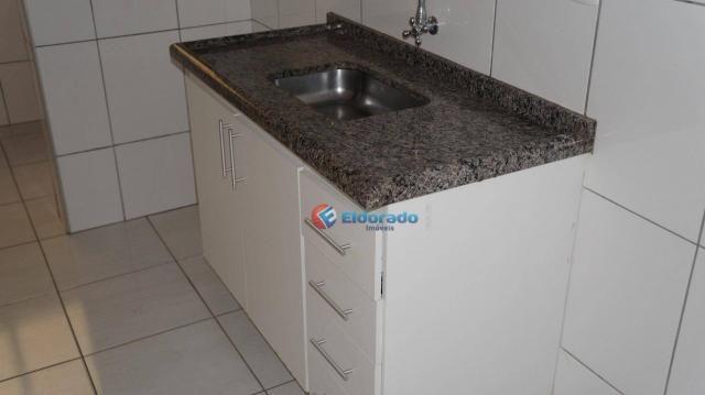 Apartamento com 2 dormitórios para alugar, 58 m² por r$ 1.100/mês - jardim marajoara - nov - Foto 4