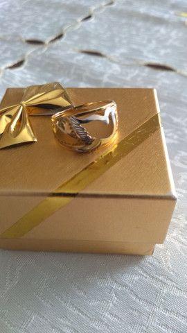 Anel em ouro 750 - Foto 3