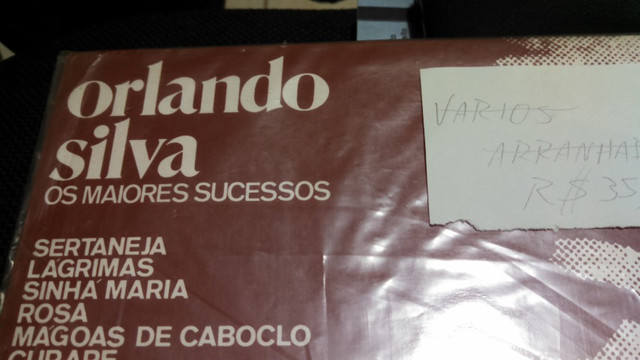 Lp Orlando Silva - Os Maiores Sucessos