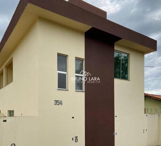 Casa com 3 dormitórios para alugar, 75 m² por R$ 900/mês - Vale Do Amanhecer - Igarapé/MG - Foto 2