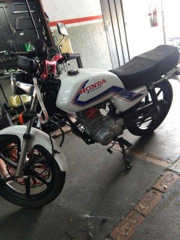 Cg 125 preparada 230 cc