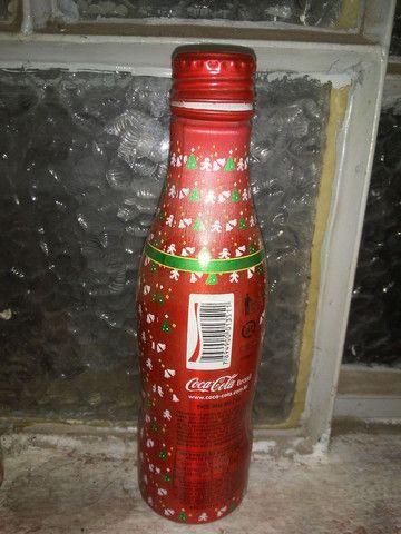 Garrafa coca cola série especial - Foto 4