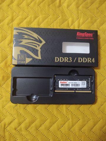 Memória ram para notebook ddr4 16gb  - Foto 3
