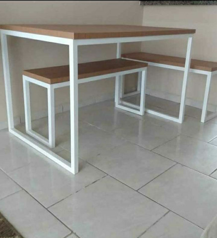Mesas estilo industrial - Foto 4