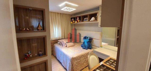 AP8072 Apartamento com 3 dormitórios, 112 m² por R$ 965.000 - Balneário - Florianópolis/SC - Foto 10