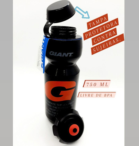 Garrafa Caramanhola Giant Classic 750 CC BIKE Livre de BPA - Foto 2