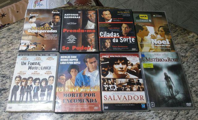 DVDs de filmes antigos e usados (Leia a descrição) - Foto 5