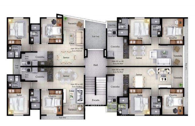 Apartamento para vender, Cristo Redentor, João Pessoa, PB. Código: 00591b - Foto 19