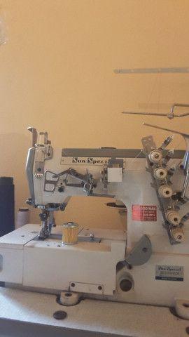 Máquina de costura GALONEIRA marca Sun Special  - Foto 3