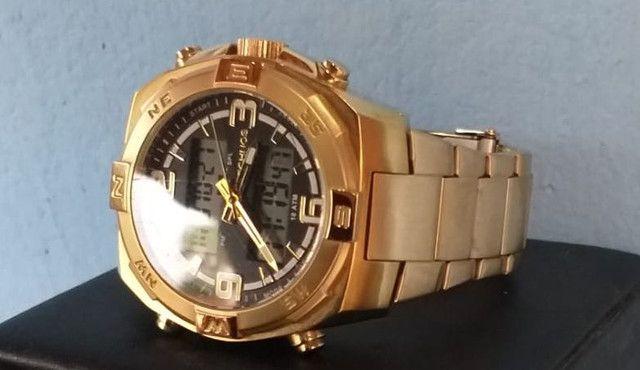 Relógio de ouro original da Technos. - Foto 3