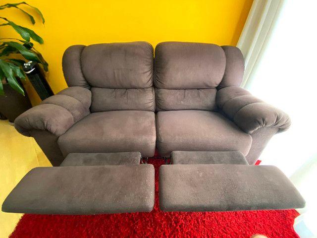 Sofá 2 lugares reclináveis  - Foto 3