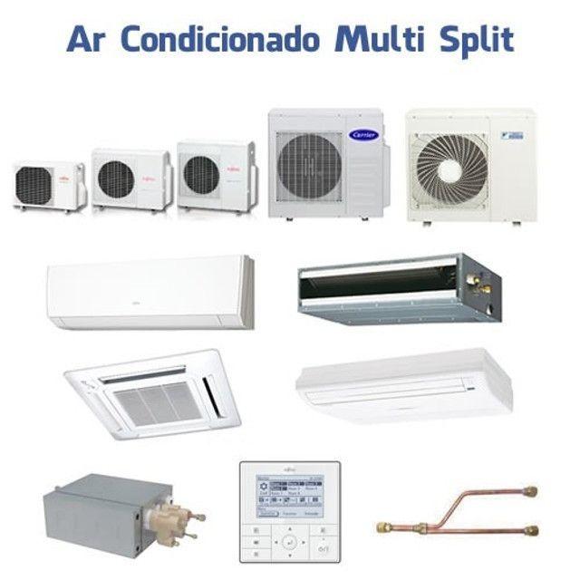 Evaporadora Split HI Wall Fujitsu 12.000 Btu/h Quente/Frio 220V - Foto 3