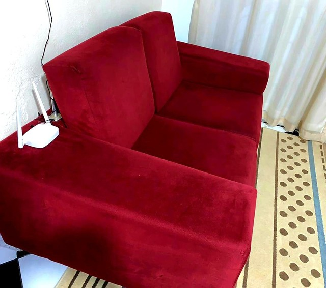 Sofá em tecido Suede - Foto 2