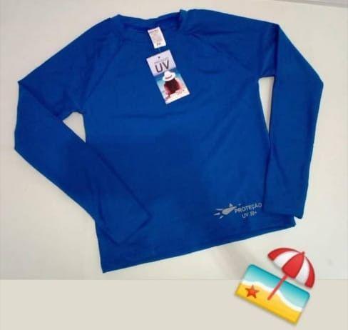 Camisa UV Infantil Malha Fria - Atacado e Varejo - Foto 2