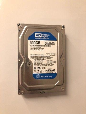 HD Western Digital 500GB - Sata