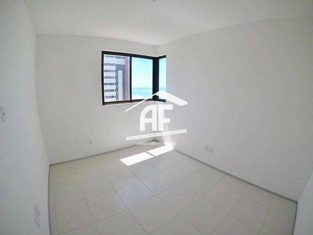 Apartamento com 4 quartos (2 suítes) - Alto padrão com vista total para o mar - Foto 14