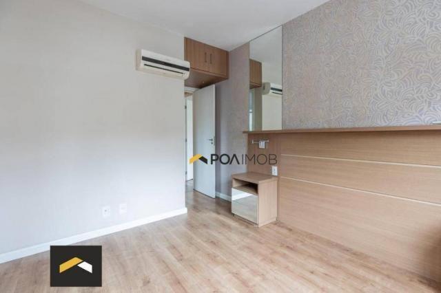 Apartamento com 3 dormitórios para alugar, 96 m² por R$ 3.600,00/mês - Petrópolis - Porto  - Foto 16