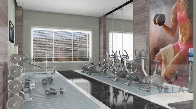 Apartamento com 2 dormitórios à venda, por R$ 355.886 - Centro - Cascavel/PR