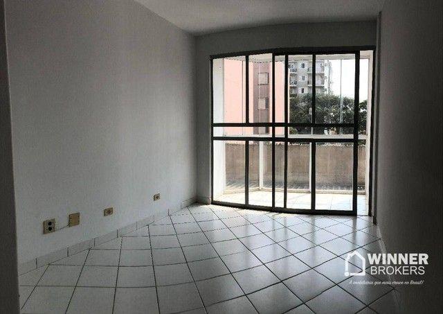 Apartamento com 3 dormitórios para alugar, 84 m² por R$ 1.200,00/mês - Zona 06 - Maringá/P - Foto 6