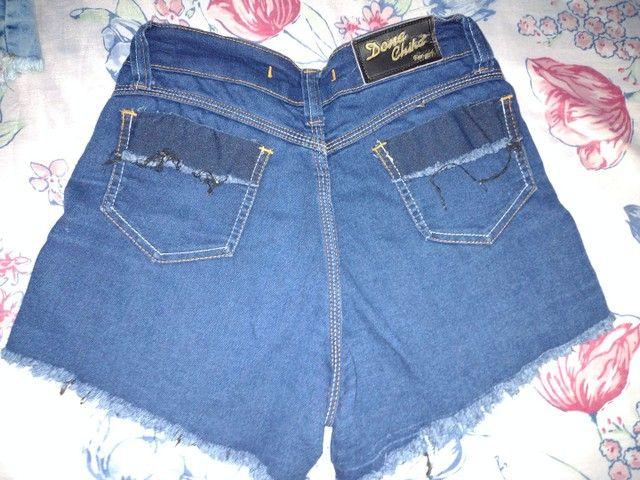 Vendo short jeans e saia jeans - Foto 6