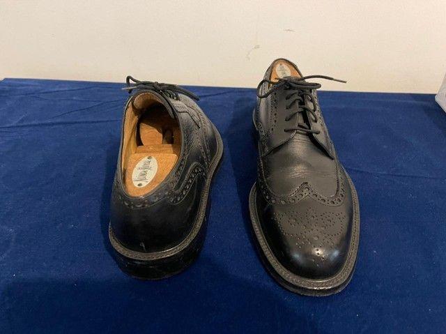 Sapatos italianos, Fratelli Poluso, cromo negro - Foto 4