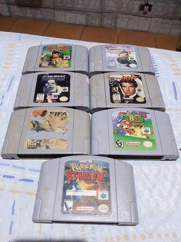 Nintendo 64 - NÃO ACEITO TROCA - Foto 3