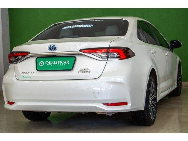 Toyota Corolla 2020 1.8 altis hybrid premium cvt - Foto 8