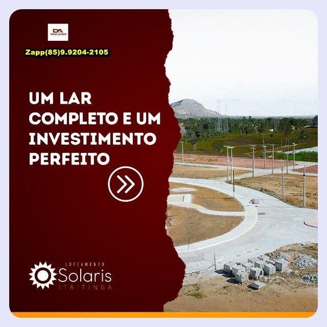 Loteamento Solaris ... Faça uma visita ...