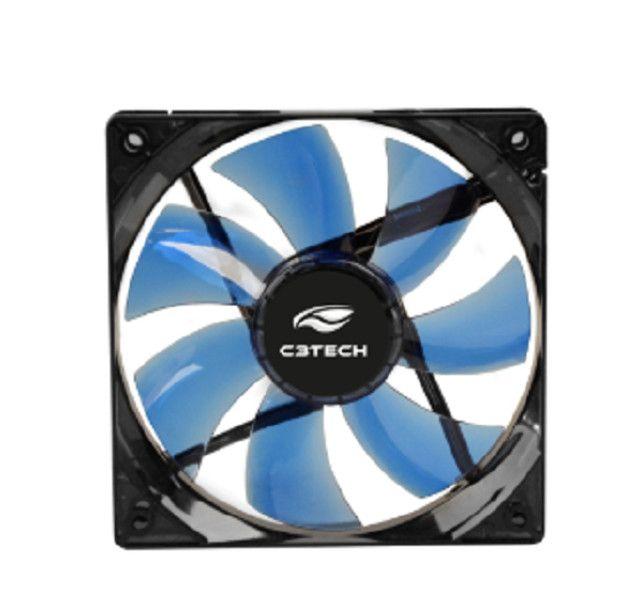7230 - Cooler FAN C3 Tech F7-L100 BL Storm 12cm LED C3T