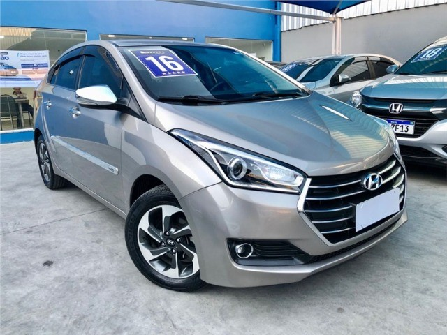 Hyundai-Hb20s Premium 1.6 Flex aut 2016 Financiamos sem comprovação de renda