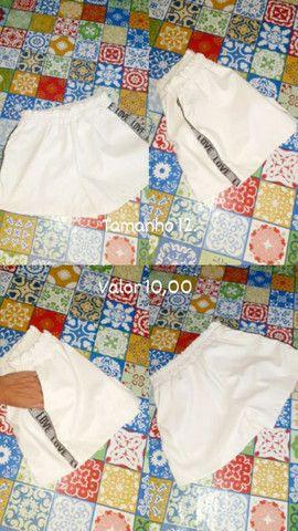 Sacola de roupa com 25 peças