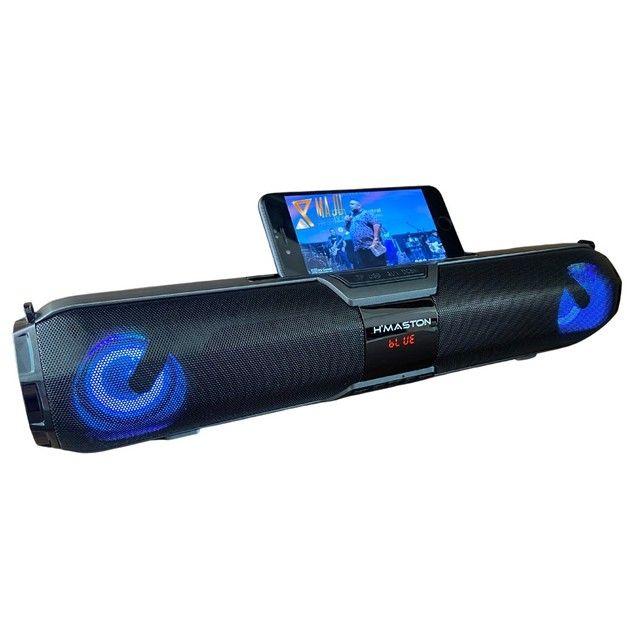 Caixa de Som Alto Falante Hmaston Relogs X22S 20w Portátil Bluetooth  - Foto 3