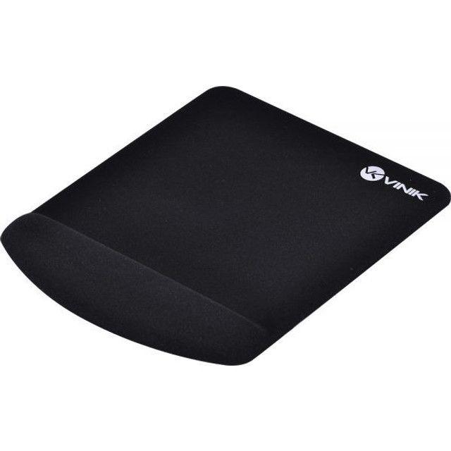 Mousepad Vinik Com Apoio de Pulso Em Gel Mpg-02P Preto - Novo - Foto 3